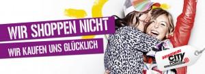 Abb. 3: Werbekampagne des CityPoint/Drehscheibe-Einkaufszentrums in Bochum. Bildrechte: Zum Goldenen Hirschen / ECE.
