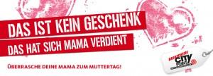 Abb. 4: Werbekampagne des CityPoint/Drehscheibe-Einkaufszentrums in Bochum. Bildrechte: Zum Goldenen Hirschen / ECE.